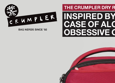 Review The Crumpler Inflight Advertising